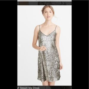 NWT Sequin Slip Dress Size Small A & F